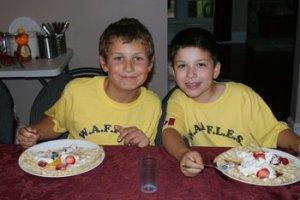 Waffle-Dinner